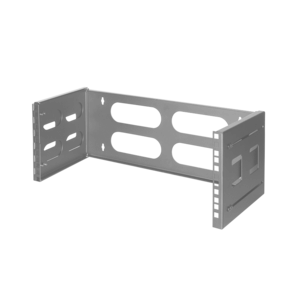 4U wall server rack 494x400x183mm (WxDxH) gray