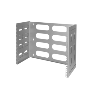 8U wall server rack 494x400x360mm (WxDxH) gray