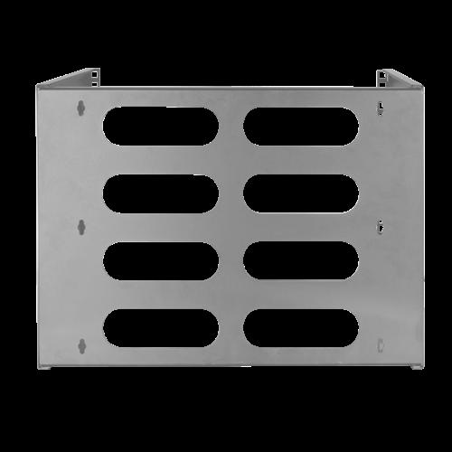 8U wall server rack 494x400x360mm (WxDxH) gray