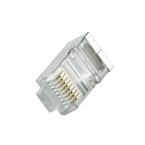 CAT6 Connector with grommet RJ45 - STP 100 pieces for flexible cable