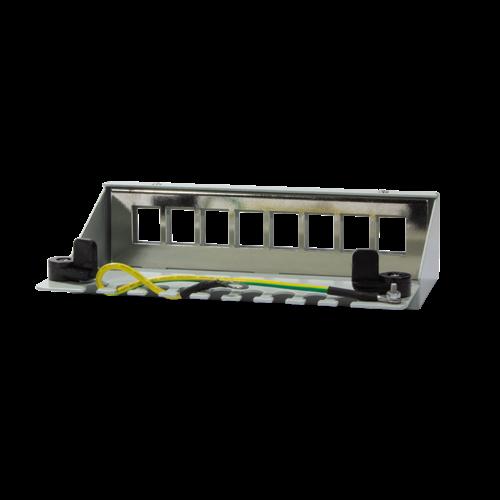 Keystone patch panel box voor 8 keystones