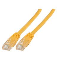 Cat6 30m geel UTP kabel