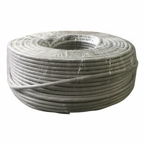 FTP CAT5e network cable solid 100M CCA