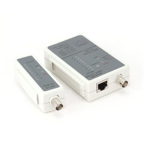 Cable Tester For RJ11, RJ12 and RJ45
