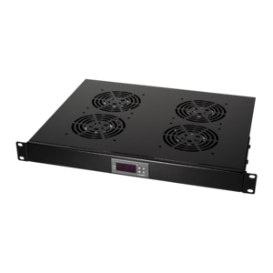 Fan set with 4 fans suitable for all 19 '' cabinets