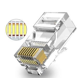 CAT6a modular plug RJ45 - UTP 50 pieces