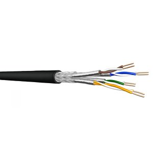 SF/UTP CAT6 outdoor cable solid 305M CCA