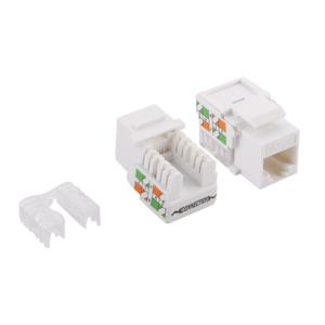 CAT5e Keystone RJ45 unshielded wit