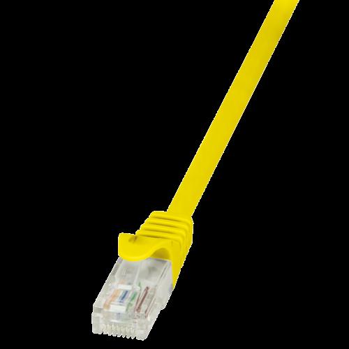 Cat6 0.5M U/UTP Yellow