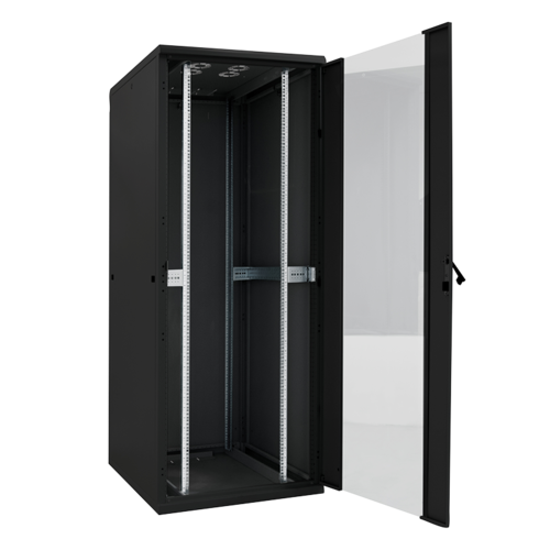 Bintra 22U Server Rack Cabinet Glass Door (WxDxH) 600x1000x1166mm