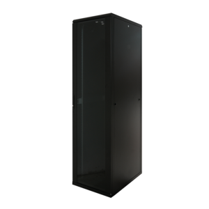 22U Server Rack Cabinet Glass Door (WxDxH) 600x1000x1166mm