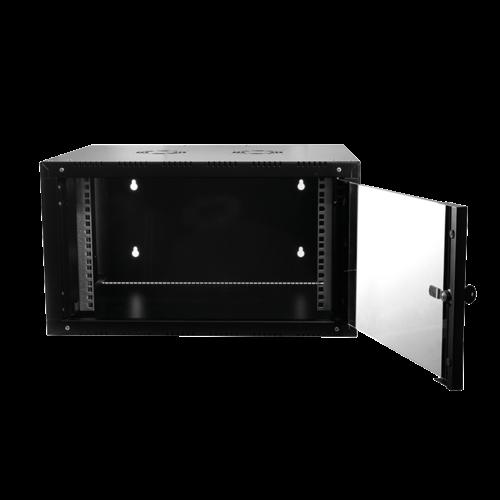 21U wall cabinet with glass door 600x560x1022mm (WxDxH)