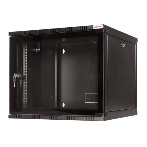 12U wall cabinet unassembled 540x400x589mm (BxDxH)
