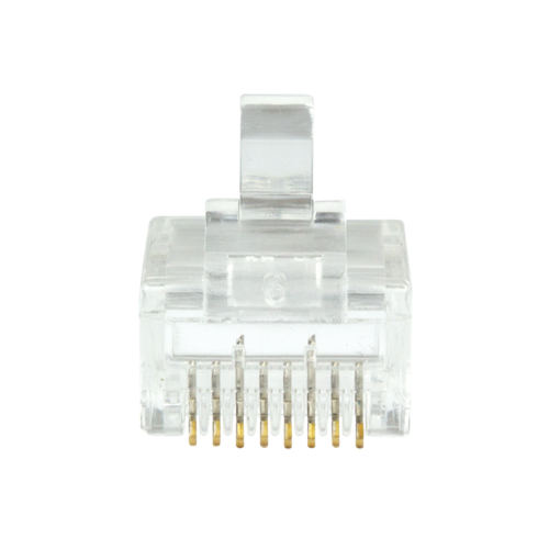 CAT6a Connector RJ45 - UTP 10 pieces for stranded and solid cable