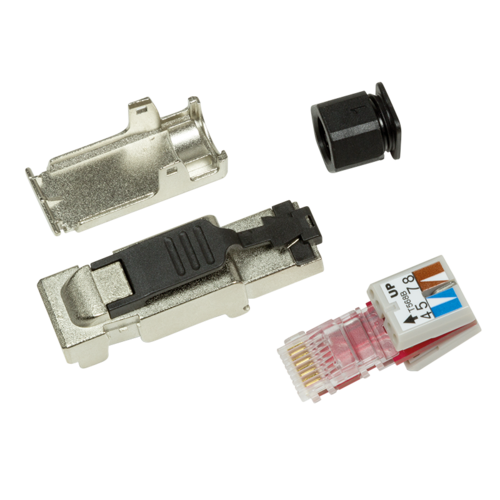CAT6a Toolless Connector RJ45 -Shielded