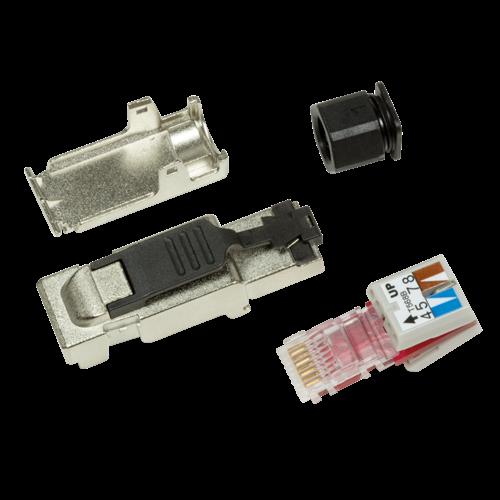 Cat6a Toolless Plug RJ45 - Shielded