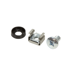 M6 cage nuts and rings 50 pcs