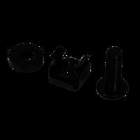 M6 kooimoeren 50 stuks zwart