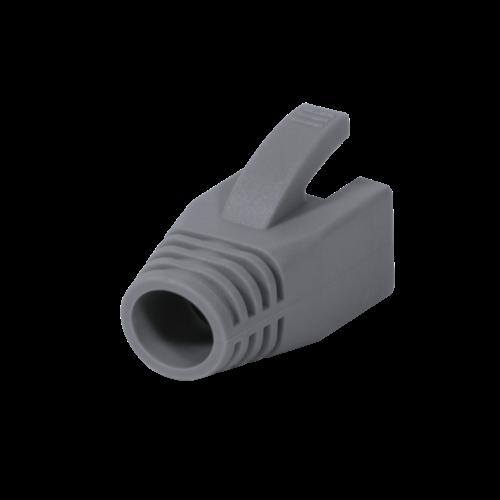 RJ45 Tule 8mm grijs 50 stuks