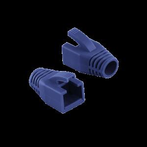 RJ45 strain relief boot 8mm blue 50 pcs