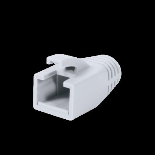 RJ45 Tule 8mm wit 50 stuks