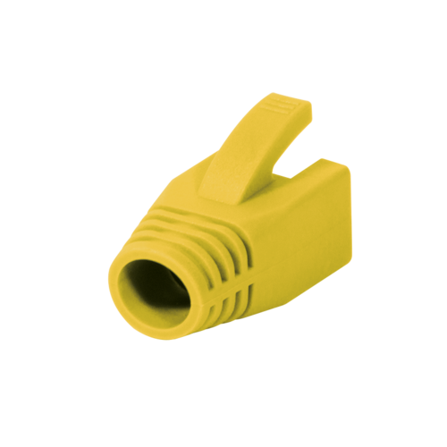RJ45 Tule 8mm geel 50 stuks