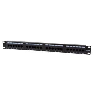 Patchpanel 24 Poorts CAT6 RJ45