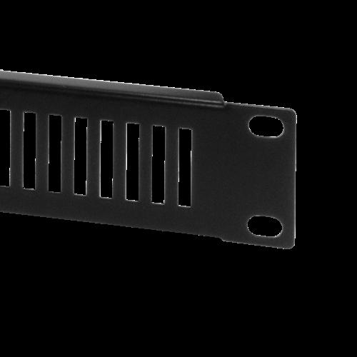 1U ventilated solid blank panel
