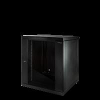 12U wall patch cabinet with glass door 600x600x635 (WxDxH)