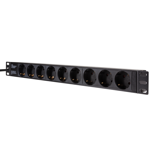 BASIC PDU with 9 EU sockets for 19 inch server cabinets