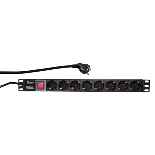 Bintra 8 ways power strip for 19'' serverrack