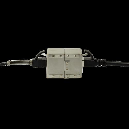 CAT6 RJ45 koppelstuk volledig afgeschermd