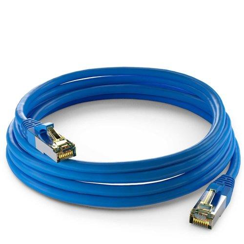Cat6a S/FTP PIMF LSZH Blauw 0.25 meter