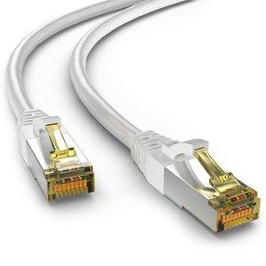 Cat6a S/FTP LSZH 0.5M White