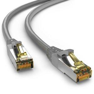 Cat6a S/FTP PIMF LSOH grijs 0.5 meter