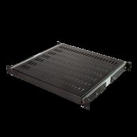 1U Sliding shelf for server cabinets of 800mm deep