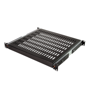 1U Uitschuifbaar legbord voor serverkasten van 800mm diepte