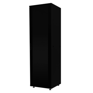 16U Patchkast 600x600x878mm zwart