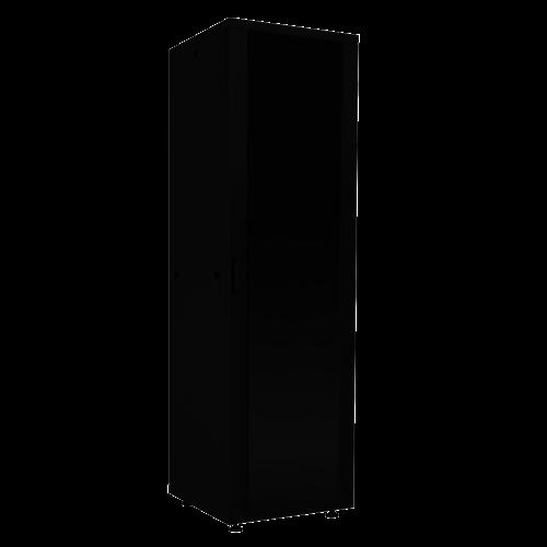 "19"" standing network cabinet 16U, 600 x 600 mm, black"
