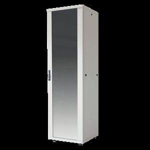 16U patch cabinet 600x600x878mm light gray