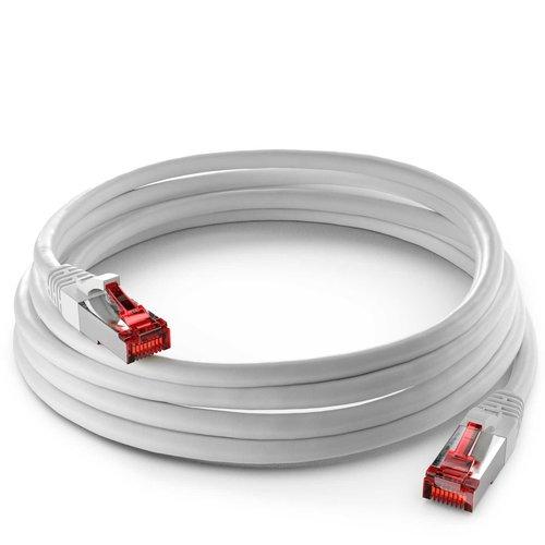 Cat6 S/FTP LSZH 1M White