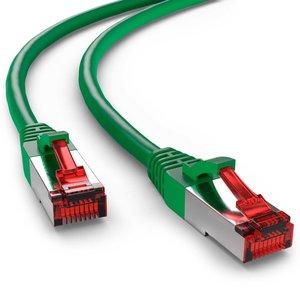 Cat6 S/FTP PIMF LSOH groen 1 meter