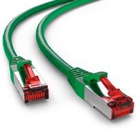 Cat6 S/FTP PIMF LSOH groen 0.25 meter