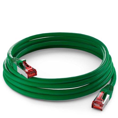 Cat6 S/FTP LSZH 0.5M Green