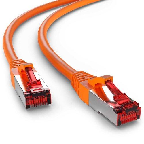 Cat6 S/FTP LSZH 1M Orange