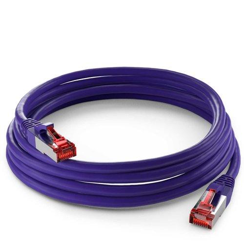 Cat6 S/FTP LSZH 2M Violet
