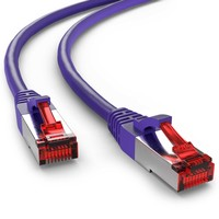 Cat6 S/FTP LSZH 0.25M Violet