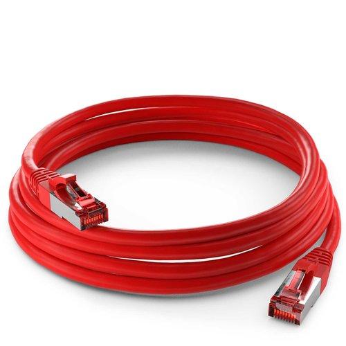Cat6 S/FTP LSZH 0.25M Red