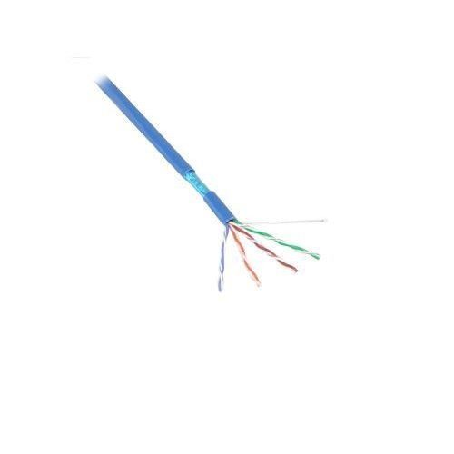 FTP CAT5e soepel 100M CCA Blauw (netwerkkabel op rol)