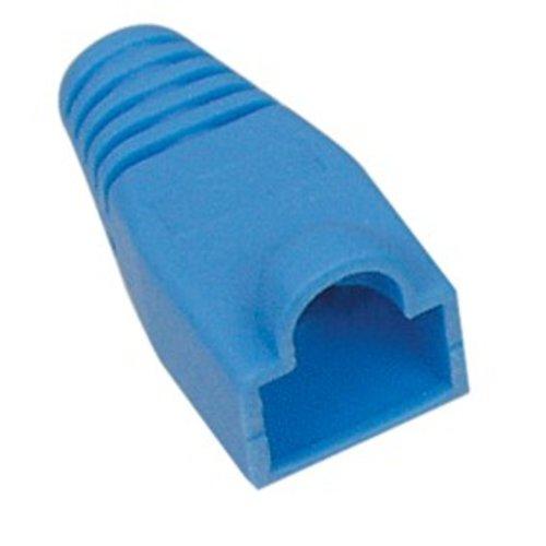 RJ45 Tule Blauw 100 stuks 6mm